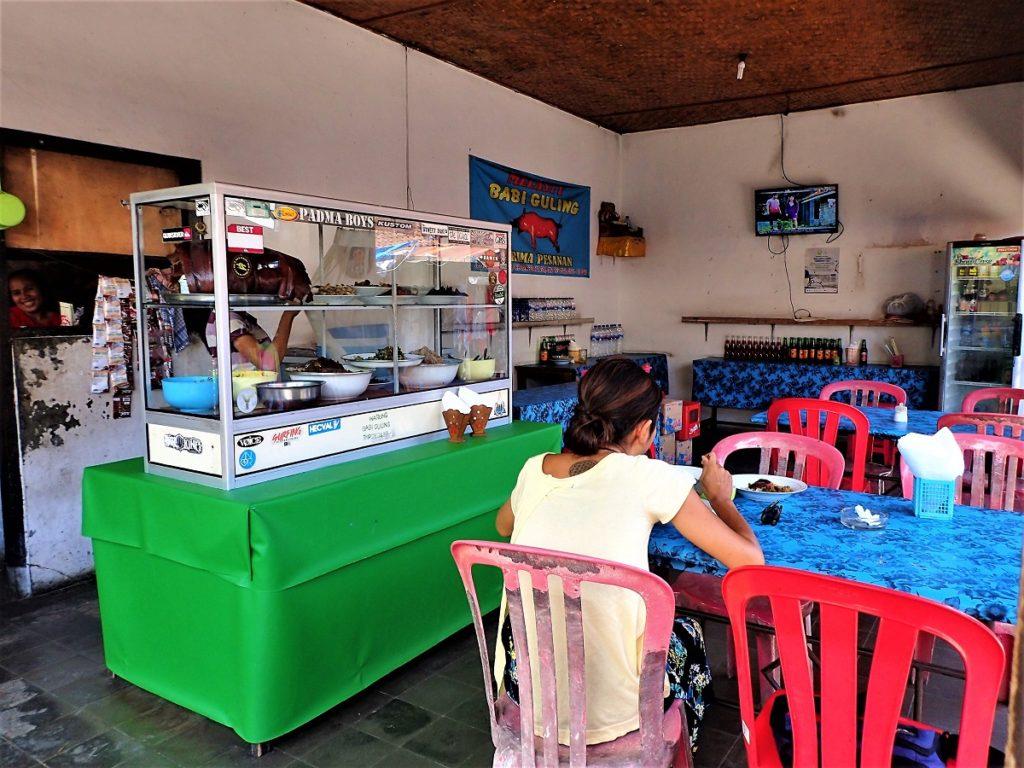 バリ島レギャンのバリグリン店